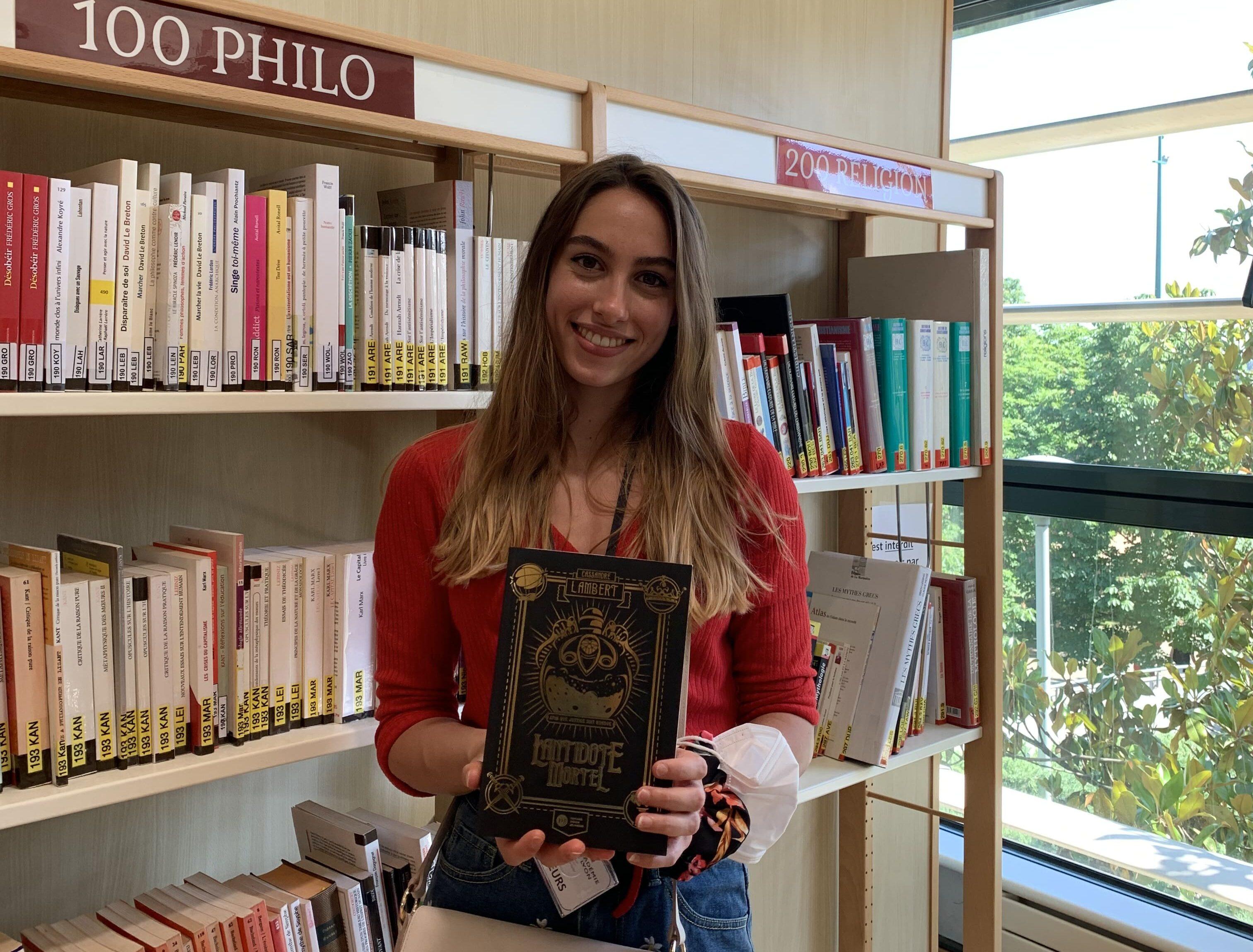 Cassandre Lambert, ex-lycéenne de René Descartes